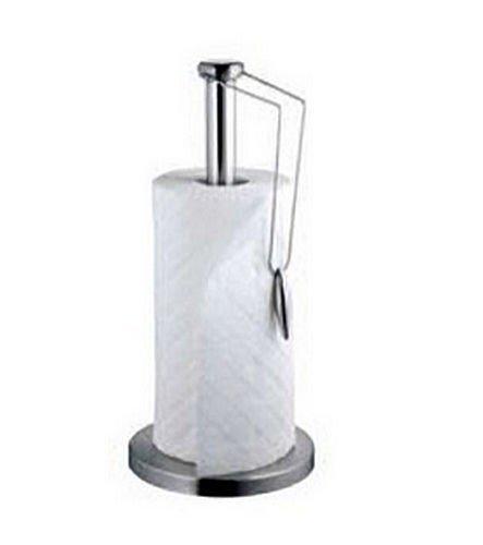 Porte essuie-tout en acier inoxydable - porte-rouleau - porte-papier de ménage