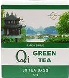Qi Green Tea Pure & Simple 80 Bag