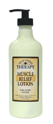 The-Village-Company-Muscle-Therapy-Relief-Natural-Lotion-16-Ounce