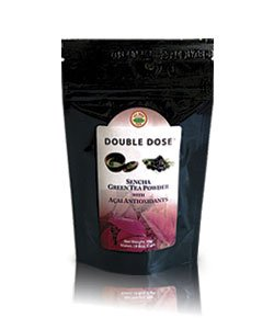 Double Dose Sencha Green Tea Powder With Acai Antioxidants