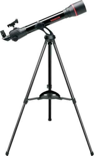 Tasco 49070800 Spacestation 70x800mm Refractor AZ with Variable LED Red Dot Finderscope Telescope