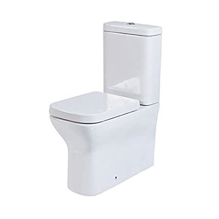 Phoenix Megan Comfort Height Close Coupled WC inc Soft Close Seat & Cover MN041