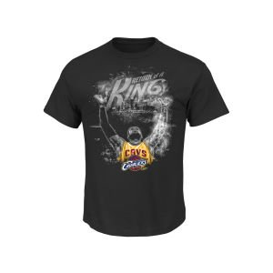 Cleveland Cavaliers LeBron James Majestic NBA Return of A King T-Shirt