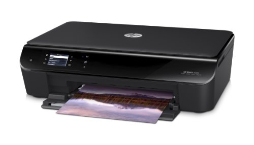 HP ENVY 4500 - Impresora multifunción de tinta color (impresión móvil HP ePrint, HP WiFi Direct), negro