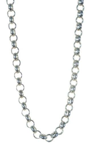 925 Sterling Silver Gents Belcher Chain - 28