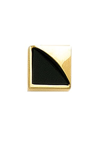 14K Yellow Gold Onyx Tie Tac-86147