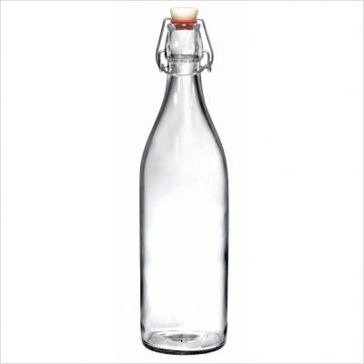Bormioli Rocco Giara Clear Glass Bottle With Stopper