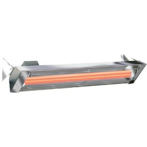 """Infratech 61 1/4"""" 6000 Watt 240 Volt Dual Quartz Electric Outdoor Heater"""