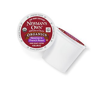 Newman's Own French Roast Coffee Keurig K-Cups, 18 Count (K Cups Coffee Newmans Own compare prices)