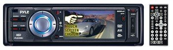 PYLE PLD3MU 3-Inch TFT Touch Screen DVD/VCD/MP3/CDR/USB Player and AM/FM Receiver