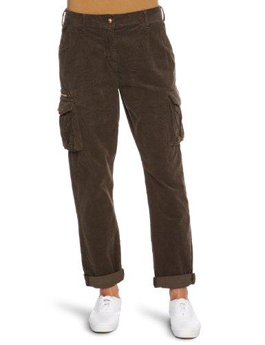 Staff Patty Tapered Women's Cargo Trousers Dark Khaki W26INxL32IN