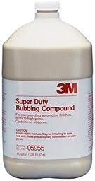 3M 05955 Super Duty Rubbing Compound - 1 Gallon