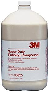 3M 05955 Super Duty Rubbing Compound - 1 Gallon