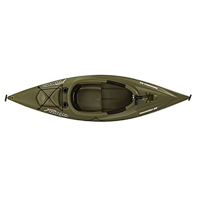 Sun Dolphin Excursion sit-in Fishing Kayak, 10-Feet