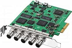 Blackmagic Design DeckLink Duo with 2 SDI Inputs and 2 SDI Outputs, Switchable Between SD and HD