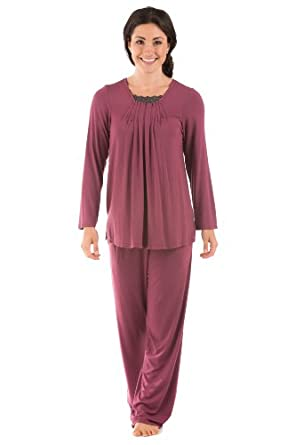 Womens Pajama Set (Tranquility)  Texere Bamboo Viscose Eco Friendly Gift  Apparel 25cd32157