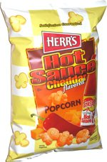 Herr's Texas Pete Hot Sauce Cheddar Flavored Popcorn