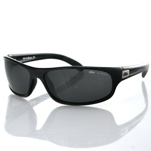 Bolle Anaconda Sunglasses Sport Shiny Black Polarized TNS