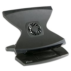 Xbrand XB-1001F 360 Height Adjustable Laptop Stand w/ Cooling Fan