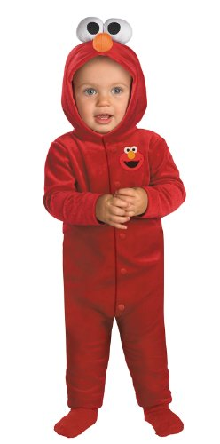 Sesame Street Giggling Elmo Costume, Size Toddler, Ages 12-18 Months
