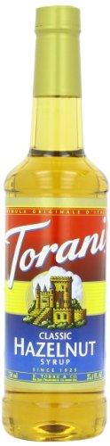 Torani Syrup, Classic Hazelnut, 25.4 Ounce (Pack of 4)