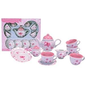 Schylling Butterfly Tea Set