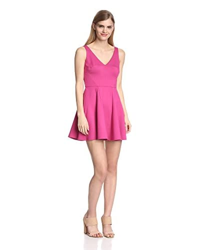 A.B.S. by Allen Schwartz Women's V-Neck Fit-and-Flare Dress