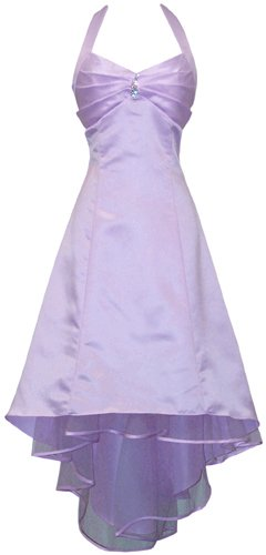 Halter Bridesmaid Holiday Formal Junior