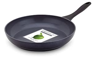 GreenPan, Kyoto Black Aluminium, 28 cm, Open Fry Pan, Ceramic Non-Stick Coating