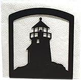Village Wrought Iron NH-10 Lighthouse Napkin Holder