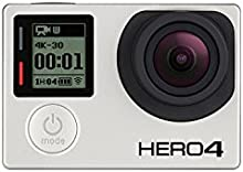Comprar GoPro HERO4 Black Edition- Videocámara deportiva (12 Mp, Wi-Fi, Bluetooth, sumergible hasta 40 m)