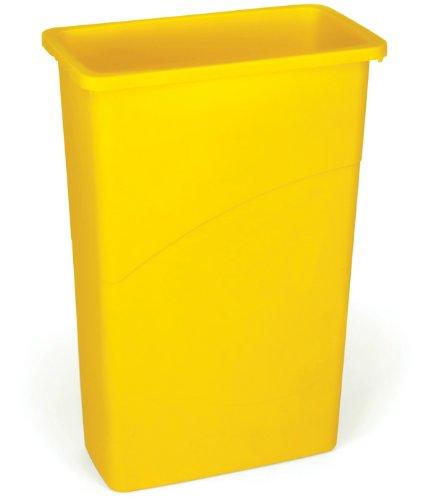 rubbermaid-commercial-products-fg354000gray-collecteur-de-dechets-87-l-slim-jim-gris