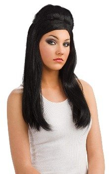 Jersey Shore Snooki Wig,Black,One Size