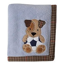 Lambs & Ivy Bow Wow Blanket - 1