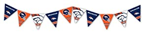 Eureka Denver Broncos Officially Licensed NFL Pennant Banner from Eureka