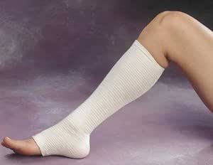 """Tensogrip Stockinette. Color: Beige, Size: G, Diam: 4&frac12"""", Will fit: large thighs (11.4cm)"""
