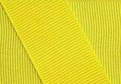 Grosgrain Ribbon 1.5 Inch 50 Yards Lemon Yellow