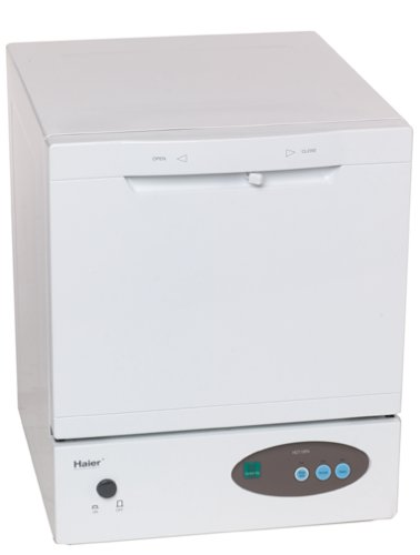 Haier HDT18PA Space Saver Compact Countertop Dishwasher (HDT18PA)
