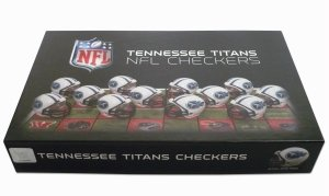Tennessee Titans Official NFL Checker Set by Rico Industries 121158