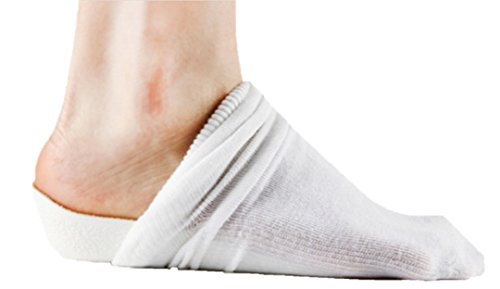 シークレット インソール 靴 を 脱いでも バレない 2.5 cm 身長 アップ 靴下 中敷 中底 パッド
