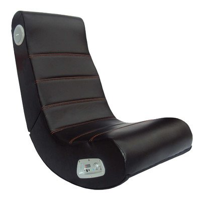 X-Rocker Rockster 2.1 Gaming Chair, Black