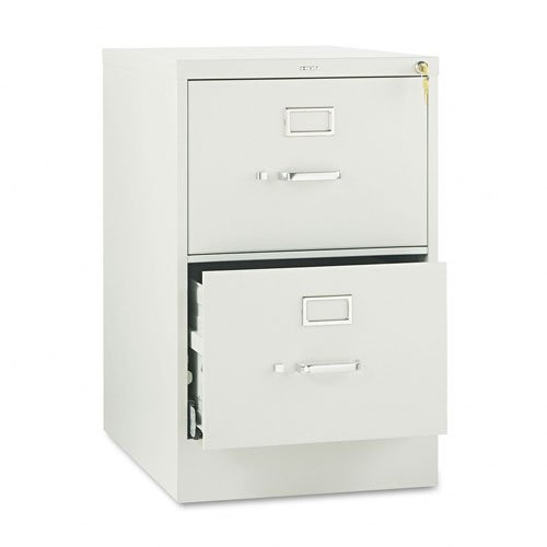 HON 512CPQ 510 Series Two-Drawer- Full-Suspension File- Legal- 29h x 25d- Light Gray
