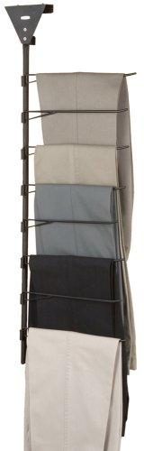 Rubbermaid MN526 Over-the-Door/Closet-Bar 8-Pair Trouser Rack