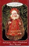 1 X Red Queen Alice in Wonderland Madame Alexander 1999 Hallmark Keepsake Ornament