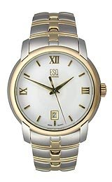 ESQ by Movado Muse Two-tone Bracelet White Dial Men's watch #07301346