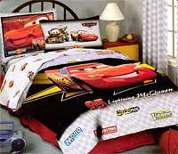 disney cars movie 4pc bed sheets set full size bedding