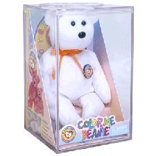 Buy Ty Color Me Beanie Baby Bear