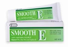 Smooth E Cream Aloe Vera Anti Aging Scar 40G