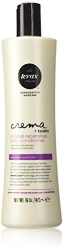 Terax Crema + Keratin Original Reparative Daily Conditioner, 16oz. (Terax Conditioner compare prices)