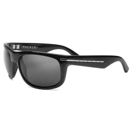 Kaenon Burny Polarized Sunglasses - Black G12<br />